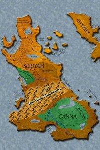 Map of Seriyah and Canna